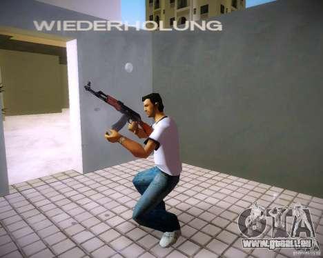 AK-47 pour le quatrième écran GTA Vice City