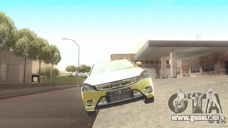Kia Ceed für GTA San Andreas zurück linke Ansicht