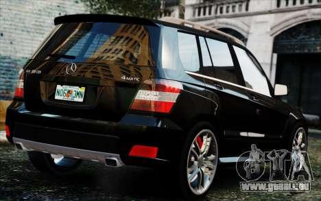 Mercedes-Benz GLK 320 CDI pour GTA 4 est une gauche