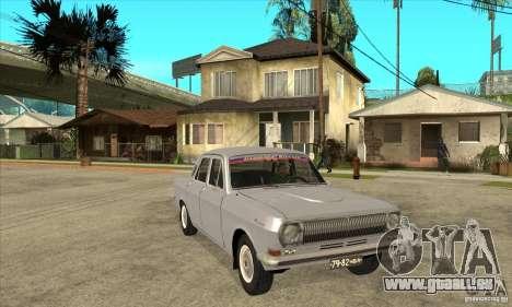 GAZ Volga 24 pour GTA San Andreas vue arrière