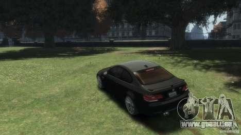 BMW M3 pour GTA 4 est une gauche