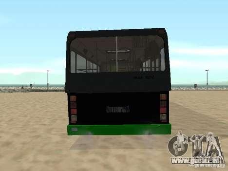 Remorque pour Liaz 6212 pour GTA San Andreas vue de droite