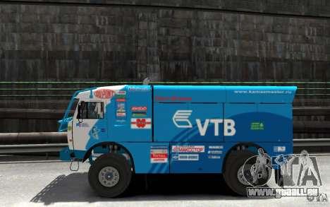 KAMAZ 4911 Rally MASTER für GTA 4 linke Ansicht