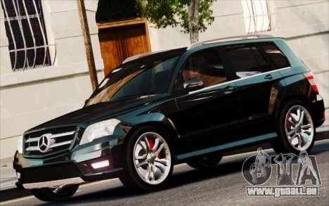 Mercedes-Benz GLK 320 CDI pour GTA 4 Vue arrière de la gauche