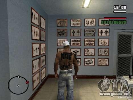 Neue Tattoos für GTA San Andreas sechsten Screenshot