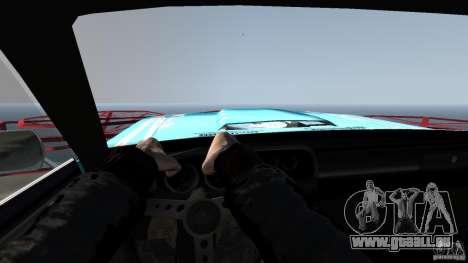 Afterburner Flatout UC für GTA 4 Innenansicht