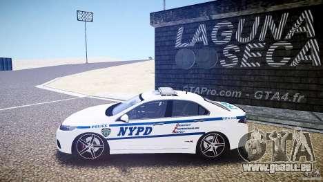 Honda Accord Type R NYPD (City Patrol 7605) ELS pour GTA 4 est une gauche