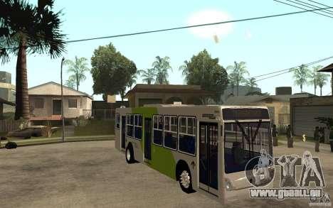 Caio Induscar Mondego Transantiago für GTA San Andreas Rückansicht