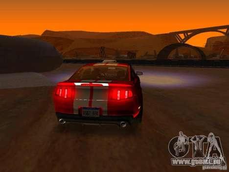 Ford Shelby GT500 für GTA San Andreas