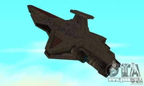 Republic Attack Cruiser Venator class v3 für GTA San Andreas