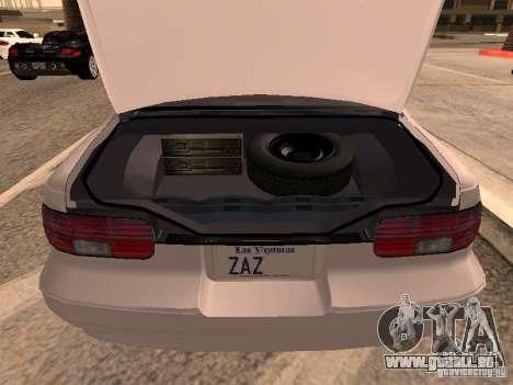 Chevrolet Impala SS 1995 für GTA San Andreas Rückansicht