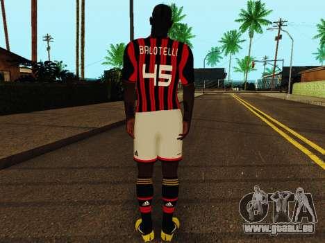 Mario Balotelli v1 für GTA San Andreas her Screenshot