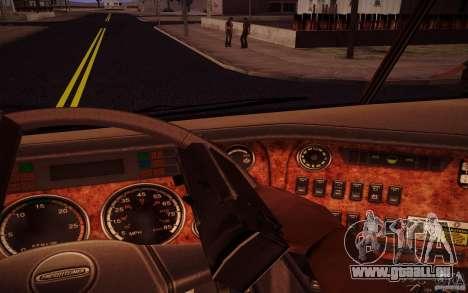 Freightliner Argosy für GTA San Andreas Innenansicht