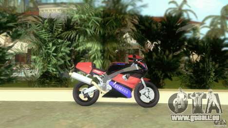 Yamaha FZR 750 black für GTA Vice City linke Ansicht