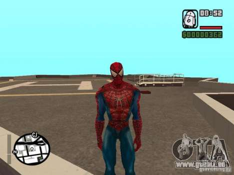 Spider Man From Movie pour GTA San Andreas quatrième écran