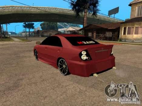 Toyota Camry 2005 TRD pour GTA San Andreas laissé vue