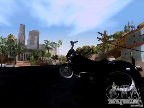 Harley Davidson FXD Super Glide pour GTA San Andreas vue arrière