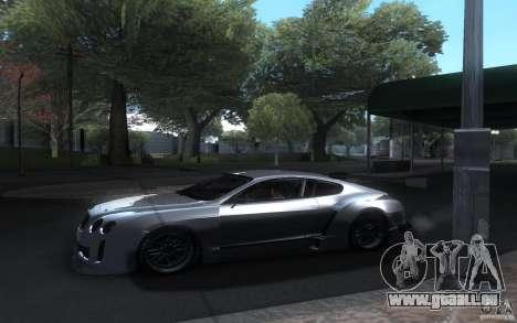 Bentley Continental Super Sport Tuning für GTA San Andreas Innenansicht