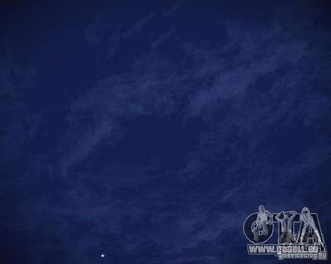 Real Clouds HD pour GTA San Andreas huitième écran