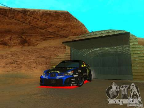 Subaru Impreza Gymkhana Practice pour GTA San Andreas