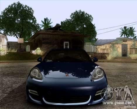 Porsche Panamera Turbo 2010 Final für GTA San Andreas Innenansicht