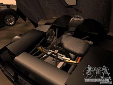 Koenigsegg CCXR Edition für GTA San Andreas Rückansicht