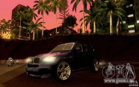 BMW X5M  2011 für GTA San Andreas Seitenansicht