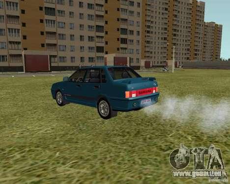 VAZ 21099 Suite pour GTA San Andreas vue de droite