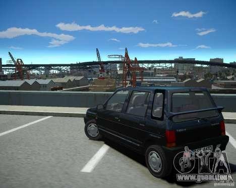 Daewoo Tico SX 1996 pour GTA 4 Vue arrière de la gauche