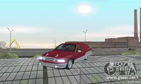 Chevrolet Caprice Majestic Nomad Custom 1992 pour GTA San Andreas