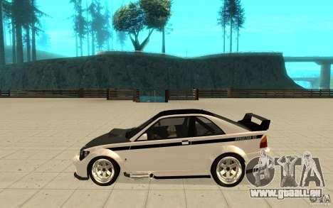 GTA IV Sultan RS FINAL für GTA San Andreas linke Ansicht