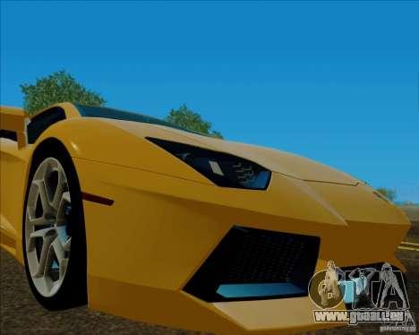 ENB v1.01 pour PC pour GTA San Andreas troisième écran