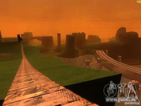 Without the desert pour GTA San Andreas cinquième écran