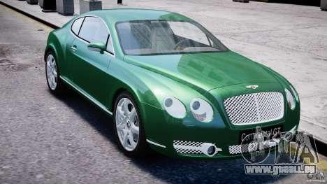 Bentley Continental GT für GTA 4 Seitenansicht