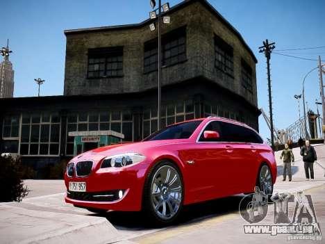 BMW 525i Touring pour GTA 4 Vue arrière de la gauche