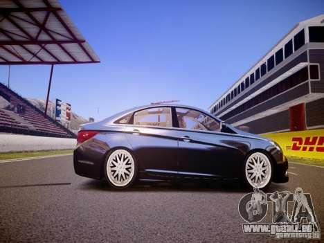 Hyundai Sonata 2011 für GTA 4 Rückansicht