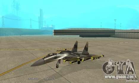 Su-37 Terminator pour GTA San Andreas