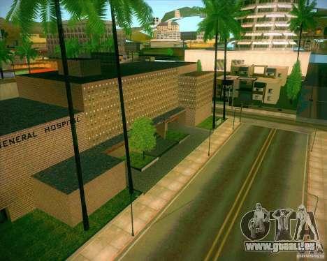 Neue Texturen aller Heiligen General Hospital für GTA San Andreas