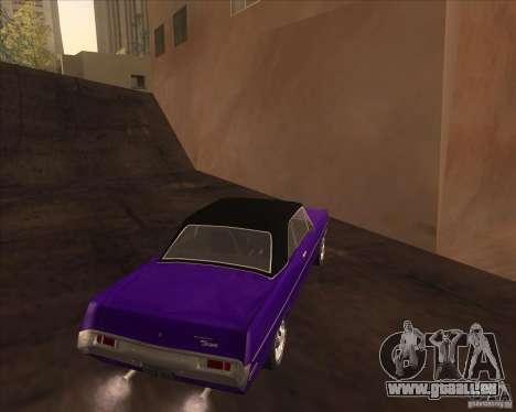 1971 Plymouth Scamp pour GTA San Andreas vue de droite