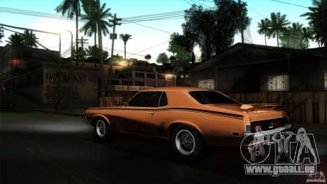 Mercury Cougar Eliminator 1970 für GTA San Andreas linke Ansicht