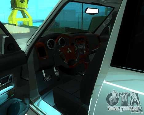 Mitsubishi Pajero STR I pour GTA San Andreas vue de droite