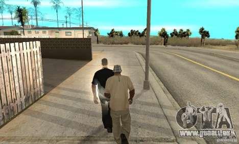 SuperClon (les gens de clonage dans SAN ANDREAS) pour GTA San Andreas cinquième écran