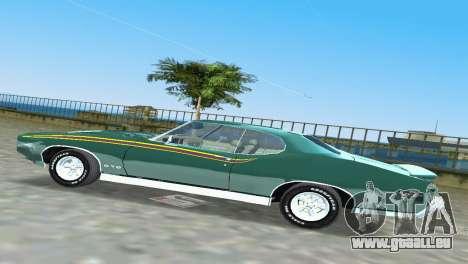Pontiac GTO The Judge 1969 für GTA Vice City Innenansicht