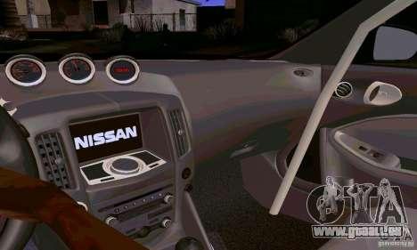 Nissan 370Z pour GTA San Andreas moteur
