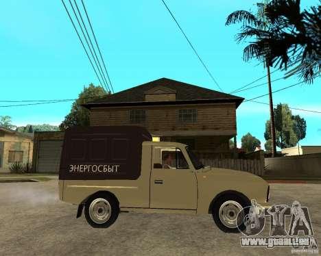 IZH 2715 « Moskvich » pour GTA San Andreas vue de droite