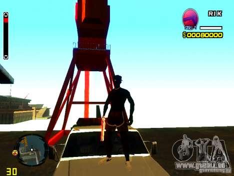 Nouvelle peau plage pour GTA San Andreas