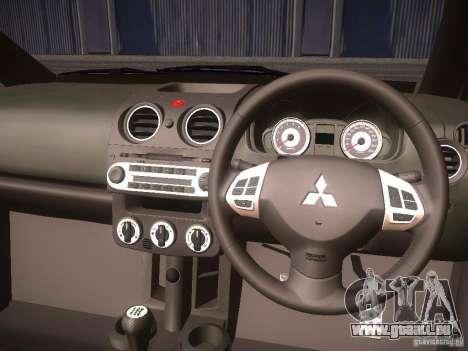 Mitsubishi Colt Rallyart pour GTA San Andreas vue de côté