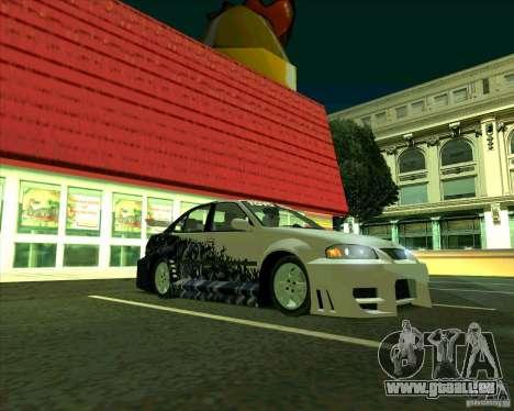 Nissan Sentra pour GTA San Andreas