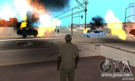 Hot adrenaline effects v1.0 für GTA San Andreas achten Screenshot