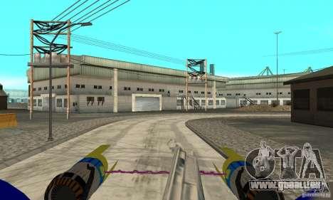 Star Wars Racer pour GTA San Andreas vue de droite